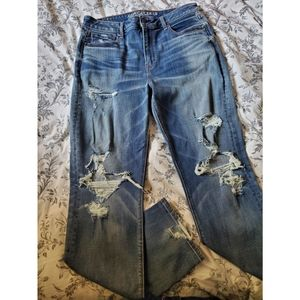 American Eagle Slim Ripped Jeans